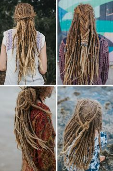 Dreadlock Hairstyles   Girl with Dreads   Mountain Dreads Blog   Dreadlock Beads   Natural Dread Care and Dreadlock Accessories. www.mountaindreads.com #dreadlocks #girlwithdreads #dreads #dreadstyle