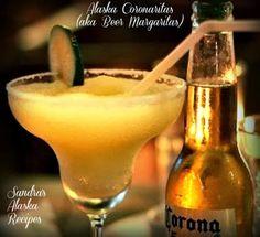 Sandra's Alaska Recipes: SANDRA'S ALASKA CORONARITAS (aka beer margaritas)