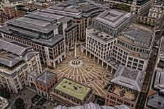 Paternoster Square from above, London by Ian Barstow on 500px