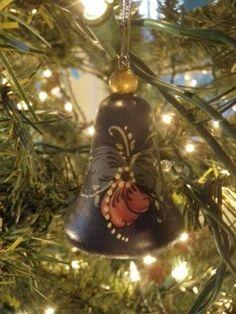 Norwegian Christmas Ornament  Bell, via Etsy.