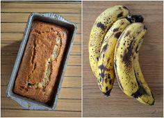ATLAS SMAKÓW : Chlebek bananowy / Ciasto bananowe Diabetic Recipes, Healthy Recipes, Banana Bread, Cake Recipes, Sweet Treats, Food And Drink, Sweets, Meals, Baking