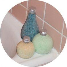 La recette des sels de bain à faire soi même,simple et facile ! @ClemmoClemmo