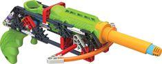 K'NEX K Force Gun Building Set Engineering Education Toy For Kids Christmas #KNEX