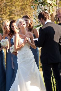 I love this moment caught from one of our summer weddings by the fabulous Melissa Musgrove