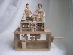 kitchen automata, cooking automaton-Wanda Sowry