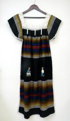 SALE M L Medium Large Vintage Dress Ethnic by PinkCheetahVintage, $29.99