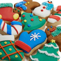 Adorable: 10 piece petite christmas cookie set for $12.
