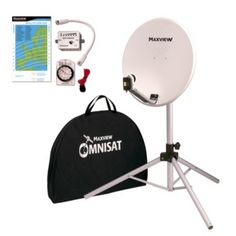 Omnisat 54cm Portable Satellite Kit will receive all digital channels when used with a compatible satellite receiver, future idea, hey paul x