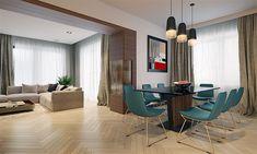 Projekt domu Karat 5 156,82 m2 - koszt budowy - EXTRADOM Mediterranean Style Homes, Planer, Living Room Designs, New Homes, House, Furniture, Home Decor, Exterior, House 2
