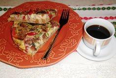 Reteta culinara Omleta la cuptor pe pat de paine toast din categoria Mancaruri cu carne. Cum sa faci Omleta la cuptor pe pat de paine toast