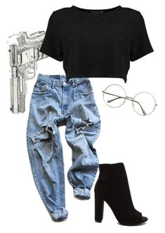 """Slow it down for a second "" by sierra-melo on Polyvore featuring Levi's"