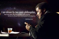Neil DeGrasse Tyson - Two main philosophies