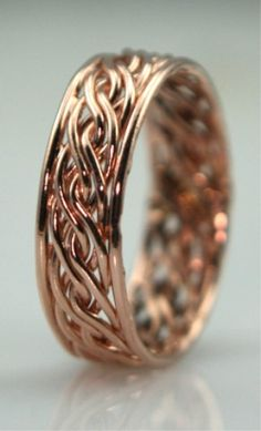 This is what I want. Period. This is exactly what I want for my wedding band. -Gen handwovenbands.com