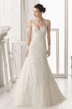 d855b2920 Aire Barcelona wedding dress 2014 Bridal Otonal Love the dress