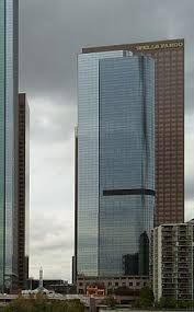 One California Plaza is a 176 meter skyscraper. It is located on the Bunker Hill District district of downtown Los Angeles, California. It was completed in 1985.