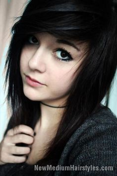 awesome Emo Hairstyles & Haircuts for Girls //  #Emo #Haircuts #Hairstyles