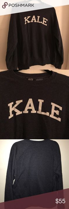 Beyoncé Navy Suburban Riot Kale sweatshirt-Size M EUC! Just like the one Beyoncé wore in her 711 video. Soft and cozy. True size medium. suburban riot Tops Sweatshirts & Hoodies