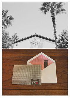 modern vintage california wedding