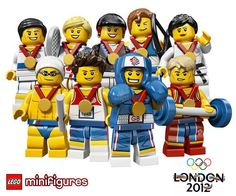 Lego Minifigures for #london2012