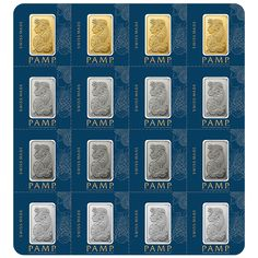 Capital Gold Group is proud to offer gold, silver, platinum & palladium bars in the handy Multigram Portfolio. Each pack contains 4 bars of each metal.