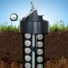 This Earth Cooler , eCool Chills Your Beer Underground, Without Electricity