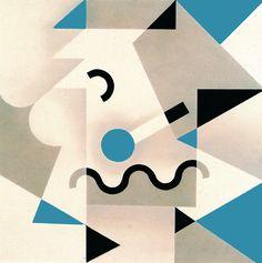 Alessandro Mendini (designer),  Galla Placidia, for Abet Laminati, 1982