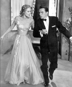 Grace Kelly and Franck Sinatra in High Society Golden Age Of Hollywood, Vintage Hollywood, Hollywood Glamour, Hollywood Stars, Classic Hollywood, Hollywood Couples, Movie Wedding Dresses, Wedding Movies, High Society