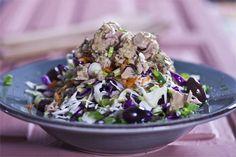 Λάχανο καρότο τόνο & vinaigrette λεμονιού Acai Bowl, Cooking Recipes, Vinaigrette, Breakfast, Easy, Food, Acai Berry Bowl, Morning Coffee, Cooker Recipes