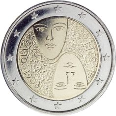 Finnish commemorative 2 euro coins, 100 years of universal and equal suffrage in Finland Commemorative 2 euro coins from Finland Piece Euro, Numismatic Coins, Euro Coins, Valuable Coins, Coin Worth, Gold And Silver Coins, Commemorative Coins, Proof Coins, Gold Bullion