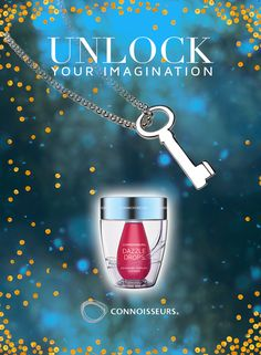 Unlock your Imagination Contest!  You could WIN all 3 of our Dazzle Products & a Sterling Silver Key Pendant Necklace by Dorfman Jewelers - Jewelry Contest http://connoisseurs.com/contest-Z7l39d.htm