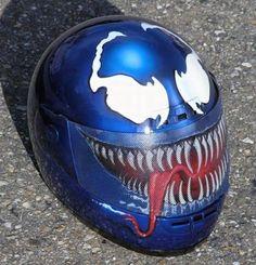 15 Creative Motorcycle Helmets (cool helmets) - ODDEE