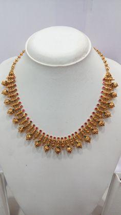 Jewelry Design Earrings, Gold Earrings Designs, Gold Jewellery Design, Indian Gold Necklace Designs, Gold Necklace Simple, Gold Jewelry Simple, Schmuck Design, Chocker, Gold Buttalu