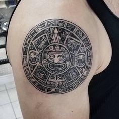 50 Disenos De Tatuajes Mayas Y Su Significado Tatuaje