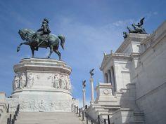 Rome, Italy: Monument of Vittorio Emanuelle