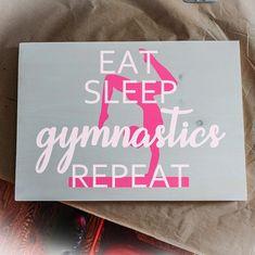 Eat Sleep Repeat part 2 #gymnasticsnovascotia  Fundraiser event booking available @csgc.gymnastics @dynamogymnastics @gymnationclub @halifaxaltagymnastics @taiso.gymnastics @titansgymnastics @valley_cheer_athletics Urban Rustic, Eat Sleep, Cheer, Inspirational, Signs, Artwork, Party, Diy, Home Decor