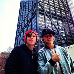 Keaton Stromberg and Wesley Stromberg #emblem3