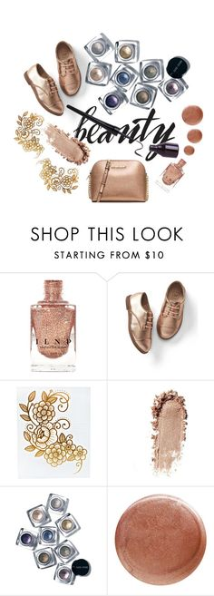 """""""Metallic"""" by ariavafanfiction ❤ liked on Polyvore featuring beauty, Gap, Bobbi Brown Cosmetics, Nails Inc. and MICHAEL Michael Kors"""