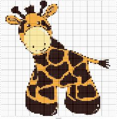 Fiber Art Designs for Intarsia & Fair Isle Knitting This sweet little giraffe is perfect for a baby blanket, pillow, or other accessories. Measures 16x16 and is worked across 80 stitches & 100 rows with DK weight yarn. A beautiful intarsia knitting design perfect for the nursery or blankie. Each can be easily printed or enlarged for easy viewing on your laptop, tablet, or phone. The files are all the same design just in different formats for your easy viewing. Depending on your preference…