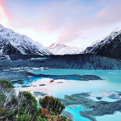 The Highest Mountain In New Zealand Aoraki Mount Cook Stands At A Whopping 3754