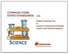 use this guide to get ideas about the types of strategies and thinking skills that match each of the Common Core Standards for Literacy in History/Social Studies, Science, and Technical Subjects – Grades Common Core Science, Teaching Chemistry, Next Generation Science Standards, English Language Arts, Science Resources, Common Core Standards, Thinking Skills, Science And Technology, Social Studies