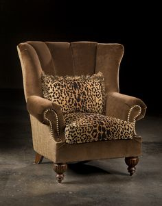 Leopard Furniture, High Quality Upholstered Chair