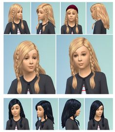 Twin Braids at Birksches Sims Blog via Sims 4 Updates