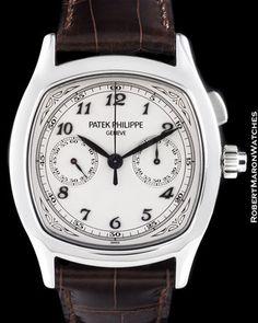 Patek Philippe 5950 A Split Seconds Chronograph Steel Grand Complication New | eBay