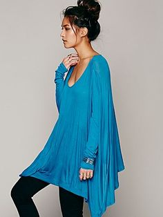 Free People Drip To The Hip Tee