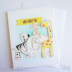MFT Sweet Safari. Baby Shower Card