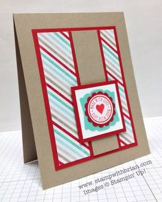 Love You More, Stampin' Up!, Brian King, PPA185