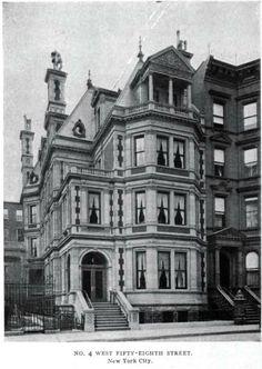 vanderbilt brownstone | Daytonian in Manhattan: The Lost Chas. B. Alexander Mansion - No. 4 ...