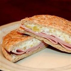 Ham Pineapple Sandwiches. Would go great with our One Republic Skinny Buns!