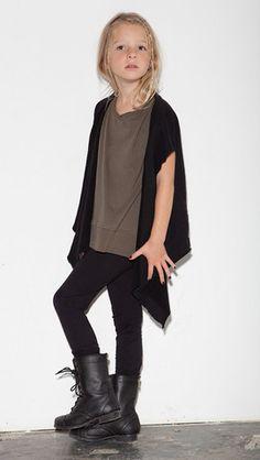Drape Vest - Black