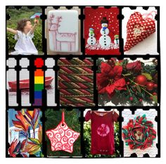 Holiday Cheer by rescuedofferings on Polyvore featuring interior, interiors, interior design, home, home decor, interior decorating, integrityTT, TintegrityT and EtsySpecialT